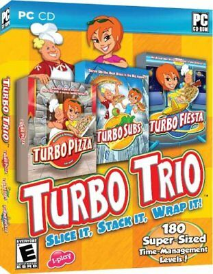 Turbo Trio (for PC) *New,Sealed*