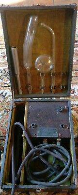 Vintage Rogers Violet Ray Health Generator Includes instructions quack medical