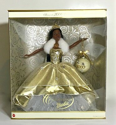 Special 2000 Edition Celebration Holiday AA African American Ethnic Barbie NRFB
