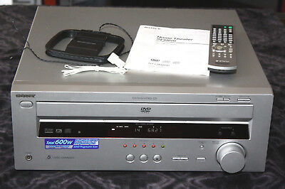 Sony avd-k800p === 5. 1ch/600w home theater receiver w/5 disc dvd.
