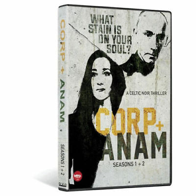 Corp + Anam Complete Irish Crime TV Series Seasons 1 & 2 DVD Set Collection All