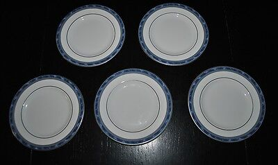 Royal Doulton Atlanta 5237 English Bone China Bread Plates Set Of 5