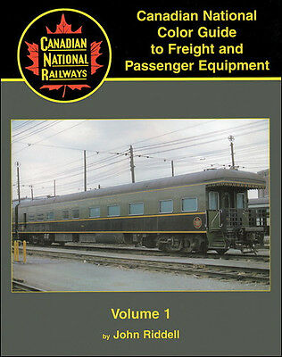 CANADIAN NATIONAL Color Guide to Freight & Passenger Equip Vol. 1, Passenger NEW
