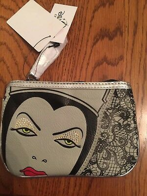 Snow White Evil Queen Change Purse Wallet New With Tags Shanghai Disney Resort