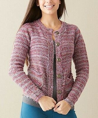 Matilda Jane Women's Size Medium Molly Cardigan Paint By Numbers Fall 2013