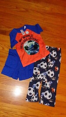 Children's Place Toddler Boys 3 Piece Surfer Sleepwear Pajamas 3T Pj