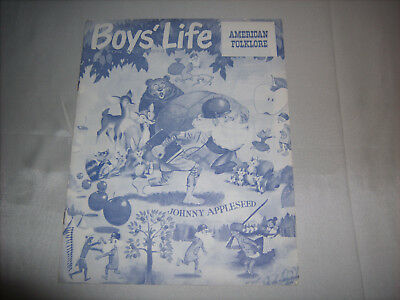 Vintage BSA Boy Scouts of America BOYS' LIFE Promotional Brochure 1950s