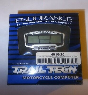 NEW Trail Tech - Endurance 18 Function Motorcycle Computer