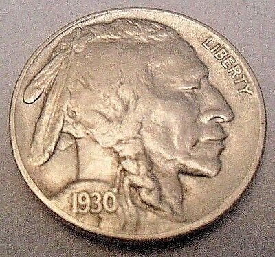 """1930 P Indian Head """"buffalo"""" Nickel  *ag Or Better*  **free Shipping**"""