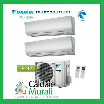 Air Conditioner Daikin Dual Split Bluevolution Perfera Ftxm-N 7 + 12 2MXM40M