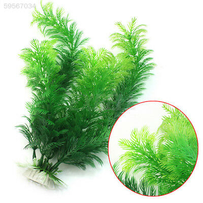 DD1B New Plastic Cute Artificial Green Underwater Simulation Plant for Fish Tank