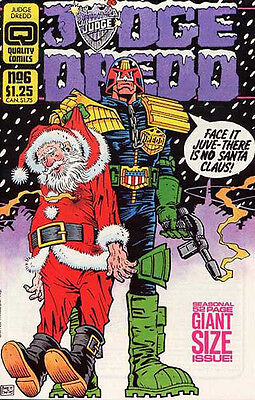 Judge Dredd #6  (1987) (Quality Comics)