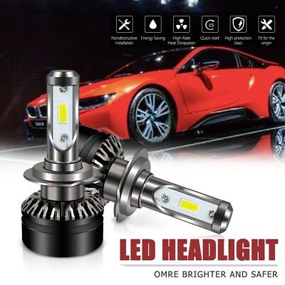 H7 Led Headlight Bulbs 6000LM 6500K DOT All-in-One Conversion Kit For Hyundai