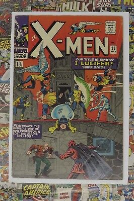 X-Men #20 - May 1966 - Lucifer Appearance! - G/vg- (3.0) Pence Copy