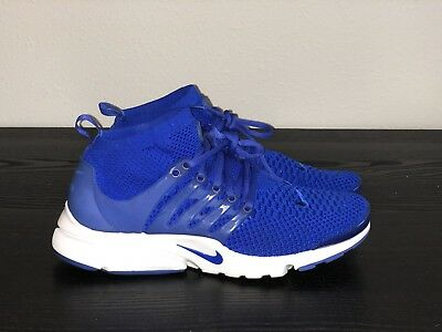 new arrival 7ca9b edfb9 Nike Air Presto Flyknit Ultra Sz 9 Recall Blue White 835570-400 VNDS