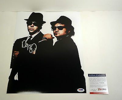 Dan Aykroyd Blues Brothers Signed Autograph 11X14 Photo Vid Proof Psa/dna Coa #1