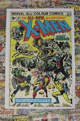 X-MEN #96 - DEC 1975 - 1st MOIRA MACTAGGERT APPEARANCE! VFN/NM (9.0) PENCE COPY!
