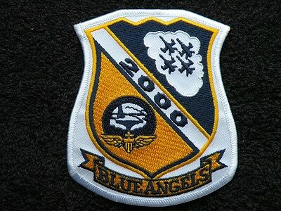 "ONE ( 1 ) U.S. NAVY BLUE ANGELS 2000 PATCH ~ 3 3/4"" x 4 1/4"" ~ FREE SHIPPING"