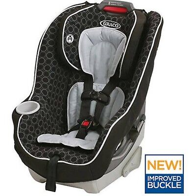 Baby Safety Convertible Car Seat Booster 2in1 Kids Travel Chair Toddler Harness