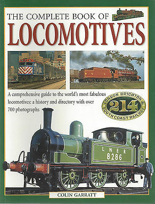 The COMPLETE BOOK of LOCOMOTIVES from 1800s to Today -- 700 COLOR PHOTOS (NEW)