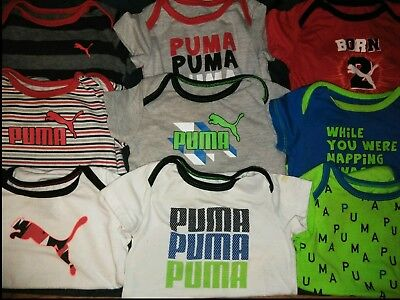 6-9 Month Puma Boys Clothing One Piece Outfits Children's Clothes Lot