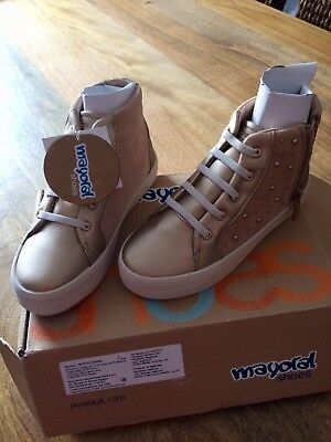 BNIB Mayoral Girls High Tops Boots Size 12.5 (31)