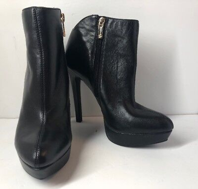 5006d015a99a JESSICA SIMPSON JS-ZAMIA Ankle Booties Size 6M For Women Pump Heels ...