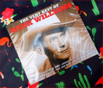 """Hank Williams: New Fast Freepost """"Very Best of"""" CD [Not Now label]"""