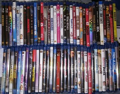Blu-ray Movie Collection, Pick Your Titles, Free Shipping