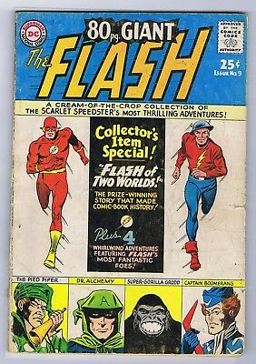 Flash 80 Page Giant Issue # 9 1.8 Flash Of 2 Worlds Cc