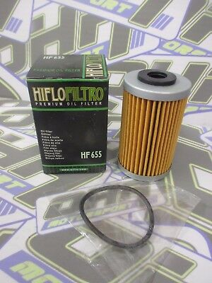 NEW Hiflo Oil Filter HF655 for KTM 450 EXC 2012-2016 / 450 SX-F SXF 2013-2015