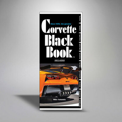 1953-2019 Corvette Black Book by Mike Antonick - Guide Facts 34th Edition