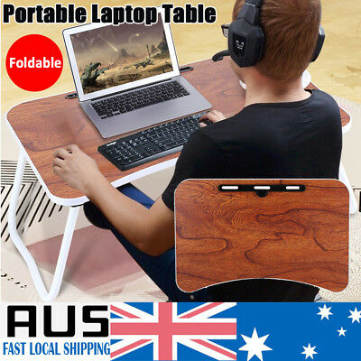 Portable Folding Laptop PC Desk Lap Bed Tray Dinner Notebooks Table Stand Tray