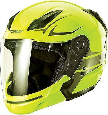 Fly Tourist Helmet Vista Hi-Viz/Gunmetal Medium