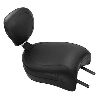 Mustang Wide Touring Rear Seat With Backrest Receiver 79629