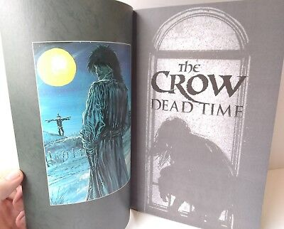 The Crow Dead Time Comic Book #2 by J O'Barr Wagner 1997 Graphic Novel Horror