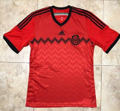 b3fea47f095 Rare Mens Mexico 2014 World Cup Away Jersey By Adidas Mens Size Large