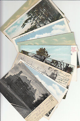 Lot of 10 Vintage Era Massachusetts Postcards Lynn MASS Essex County MA Beach