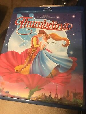 Blu Ray THUMBELINA Hans Christian Andersen fairytale animated musical NEW
