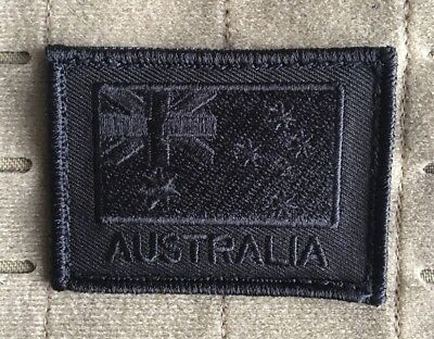 Australia, Australian Flag, ANF, Army, ADF, Black, Military, Patch, Subdued