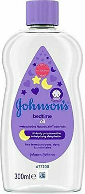 Johnson's Baby Bedtime Oil with Natural Calm Aromas, 300ml