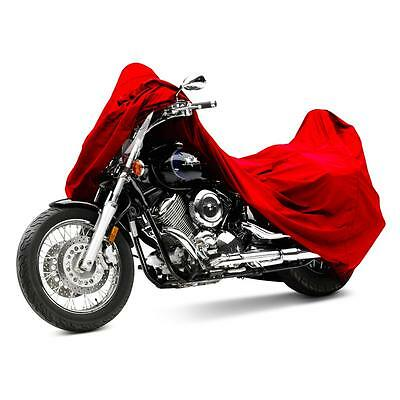L Motorcycle Rain Protector Cover For Honda CRF250R CB CBR CR CRF XL VFR Red
