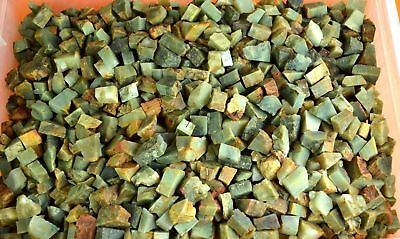 4000 Ct Natural Srilankan Green Cats Eye Chrysoberyl Gemstone Rough Lot