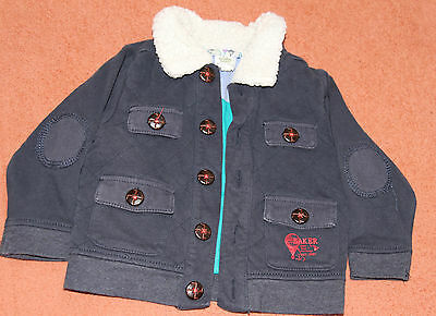 Ted Baker Baby Toddler Navy Blue Cardigan Hoodie 6M - 9M 6 Months Lovely
