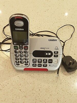 Uniden Sse35 Visual & Hearing Impaired Cordless Digital Phone System