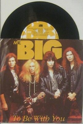 """Mr Big to be with you / baba o riley  , 7"""" 45 UK"""