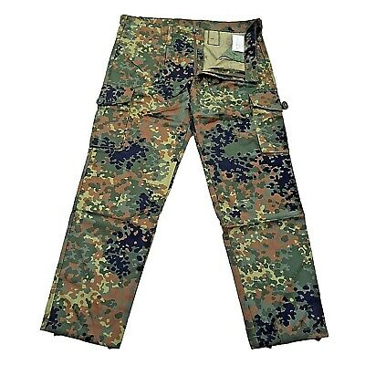 German Pattern Army Flecktarn Trousers Camo Surplus Camouflage Military Pant