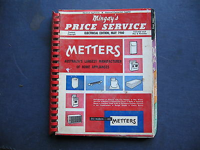 Mingay's Metters Catalogue 1960  NOTE THE DAMAGE