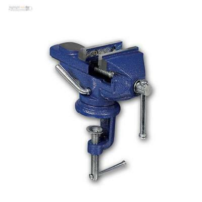 Mini vice, Table Vise with Table Clamp for Workbench, Swivel 360°