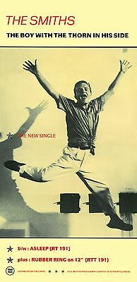 The Smiths  The Boy With The Thorn Laminated Mini A4 Poster Print Morrisey